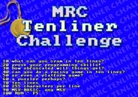 MRC Tenliner Challenge