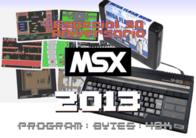 Calendário comemorativo do 30º aniversário do MSX.