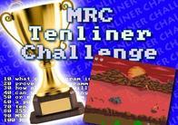 MRC Tenliner Challenge - Results