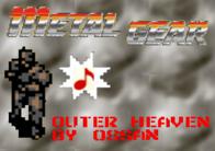 Metal Gear - Outer Heaven de O-S-S-A-N
