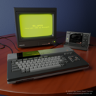 Blender artist celebrates 30 years of MSX