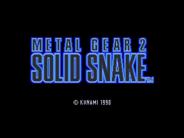 Metal Gear 2 Solid Snake, inglés v1.4
