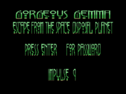 MSXdev'14 #7 - Gorgeous Gemma in Escape from the space disposal planet