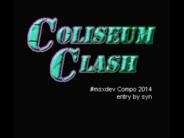 #msxdev Compo 2014: Anunciado Coliseum Clash