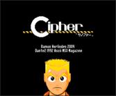 Cipher - Concepto de RPG realizado en Dante2 disponible para descargar