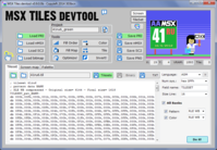 MSX Tiles devtool v0.9b