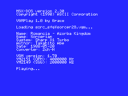 VGMPlay for MSX 1.0 released