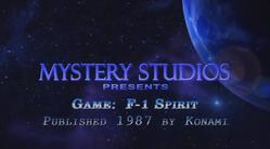 F - 1 Spirit Ending by Mystery Studios