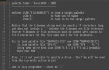 Rutina de fading de color para MSX-BASIC añadia a las descargas