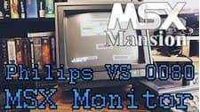 MSX Mansion - The Philips New Media Systems VS0080 Monitor