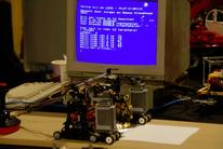MSX controlled LEGO robot