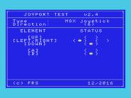 Disponibilizado o Joytest v2.4