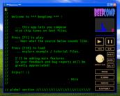 BeepComp - Ferramenta de criação de chiptune baseada em arquivos .TXT