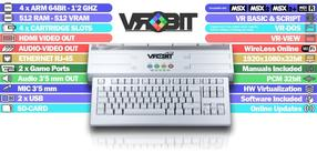 VroBITチームによるRetroMadridでの新世代MSX公開デモ。