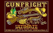 Conversiones de Gun Fright para Atari 8-bit y Commodore