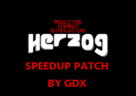 Parche de velocidad de gdx para Herzog