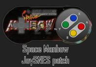 Parche JoySNES para Space Manbow
