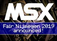 Анонсирована MSX ярмарка Ниймеген-2019