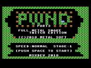 MSXdev - anunciado PWND 3