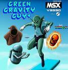 Green Gravity Guy Plus - new MSX game for V9990