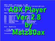 ADX Player Ver. 2.5 por Mstz80ax