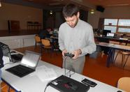 Alex Wulms demonstrating openMSX