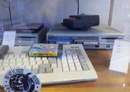 MSX display at the Sony building at Badhoevedorp