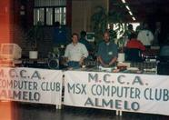 The MCCA stand