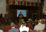 Latok and Sama introducing Sander and Jorito for the start of the new site presentation