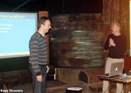 Jorito and Sander presenting MRC2K11!