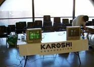 The MSX 2 of Karoshi's stand was the first in the