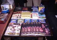 The new Call MSX and some older issues were for sale as well