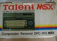 Argentine Talent DPC-200 MSX box