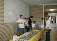 The MSX-Club NBNO stand located in the hallway