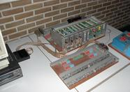 Part of the hardware to control a model railway with MSX
