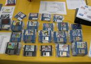 MSX-Club NBNO selling many disks