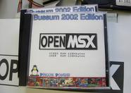 A special CD-ROM containing auto-bootable Linux and OpenMSX ready to use