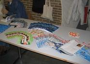 HCC G.G. MSX was also present. They gave away free magazines and goodies.