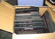 Box full of Panasonic MSX computers