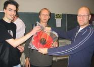 Team Bomba won an original Japanse Lantern as their UnderWater Challenge prize