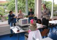 Bussum 2005 - the HCC MSXgg stands