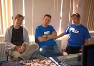 Rieks, Bart and Sander of MRC