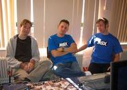Rieks, Bart and Sander of MRC