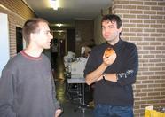 Wouter Vermaelen and Jon Deschrijder