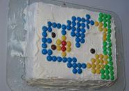 The penguin cake