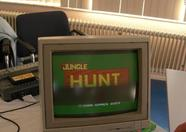 Jungle Hunt, one of the games on the Bitwise booth