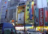 Some buildings in Akihabara.
