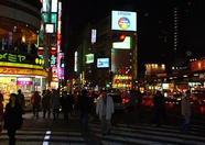 Many fancy neon lights.
