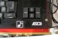 A closeup of the ASCII MSX2+ prototype