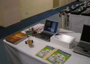 The MSX-BASIC for Robo Education booth from First Class management